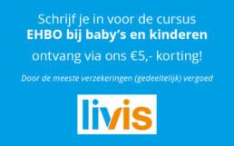 Inschrijven cursus EHBO bij baby's en kinderen